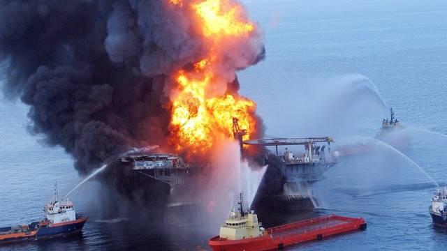 """Der Untergang der """"Deepwater Horizon"""" ist mitverantwortlich für das schlechtere Ergebnis von Transocean (Archiv)"""
