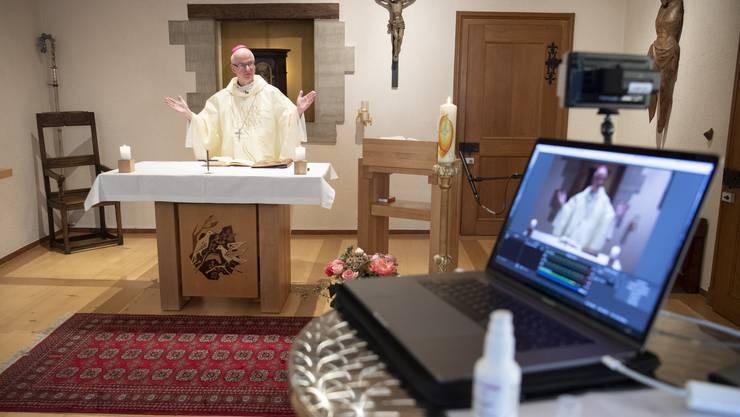 Noch finden Gottesdienste – wenn überhaupt – nur online statt.