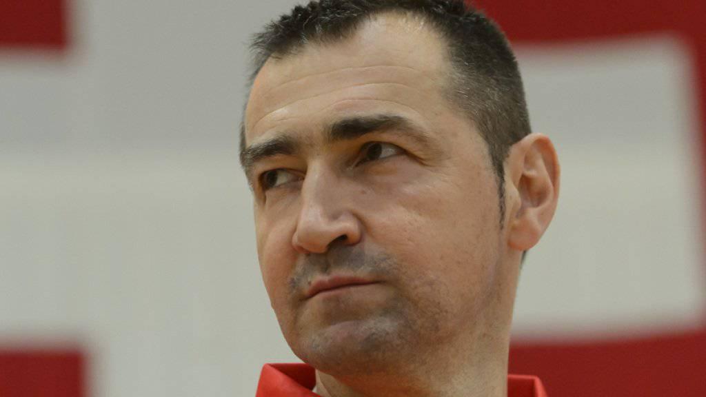 Für das Schweizer Nationalteam mit Coach Petar Aleksic beginnt heute die EM-Qualifikation