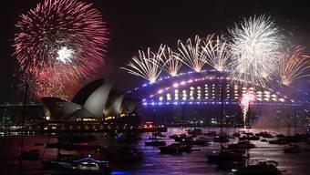 Wegen der im Umland wütenden Buschfeuern heuer besonders umstritten: Das Neujahrsfeuerwerk in der australischen Metropole Sydney.