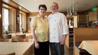 Ursula und Fritz Amsler führen das Restaurant Bären in der 4. Generation seit 35 Jahren. Eine 5. Generation als Nachfolger wird es wohl nicht geben.