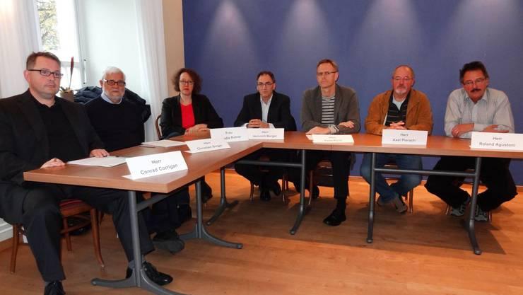Das Initiativkomitee für die Einführung des Einwohnerrats in Rheinfelden