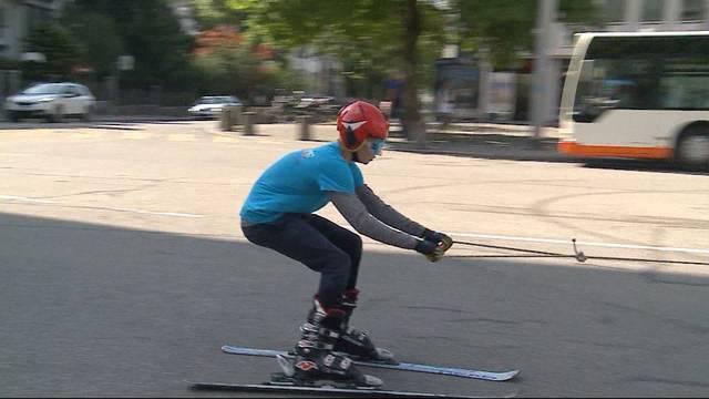 Skianzug statt kurze Hosen