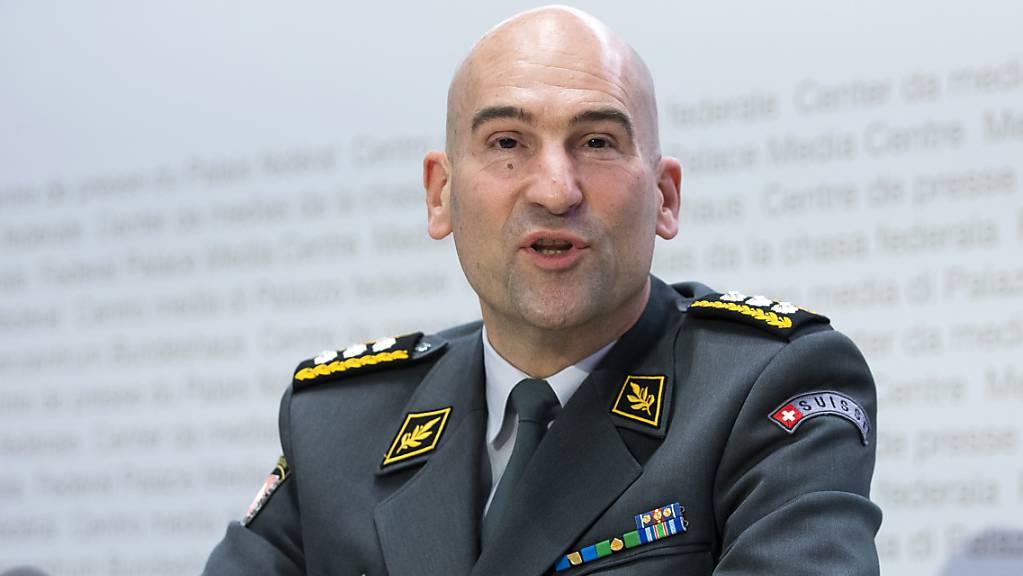 Armeechef Thomas Süssli rechnet für 2021 mit einem hohen Andrang bei der RS. (Archivbild)