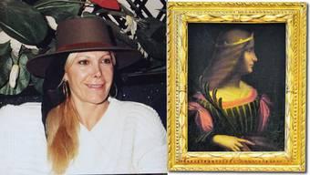 «Das Bild befindet sich im Familienbesitz», sagt Emidia Cecchini Ex-Jetsetterin. Das Gemälde «Ritratto di Isabella d'Este» stammt womöglich von Leonardo da Vinci.