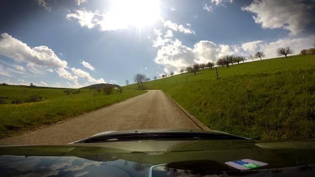 27 Kilometer in 10 Minuten: Die Fricktaler Tour-de-Suisse-Strecke im Zeitraffer.