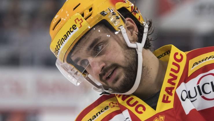 Dominik Diem avancierte mit vier Assists zum Matchwinner des EHC Biel beim Sieg gegen Genève-Servette