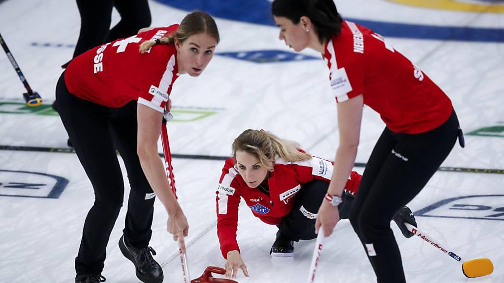 Der siebte Sieg der Schweizer Curlerinnen