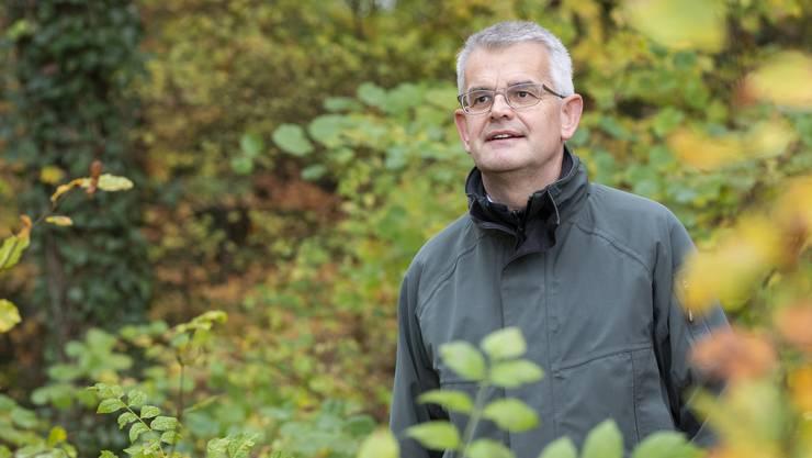 Alain Morier hört nach 32 Jahren im Forstdienst auf.