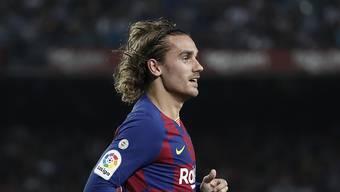 Barcelona wurde für den Regelverstoss beim Transfer von Antoine Griezmann mit einem symbolischen Betrag bestraft