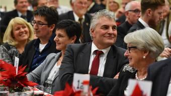 Feier für Albert Studer, Kantonsratspräsident 2016