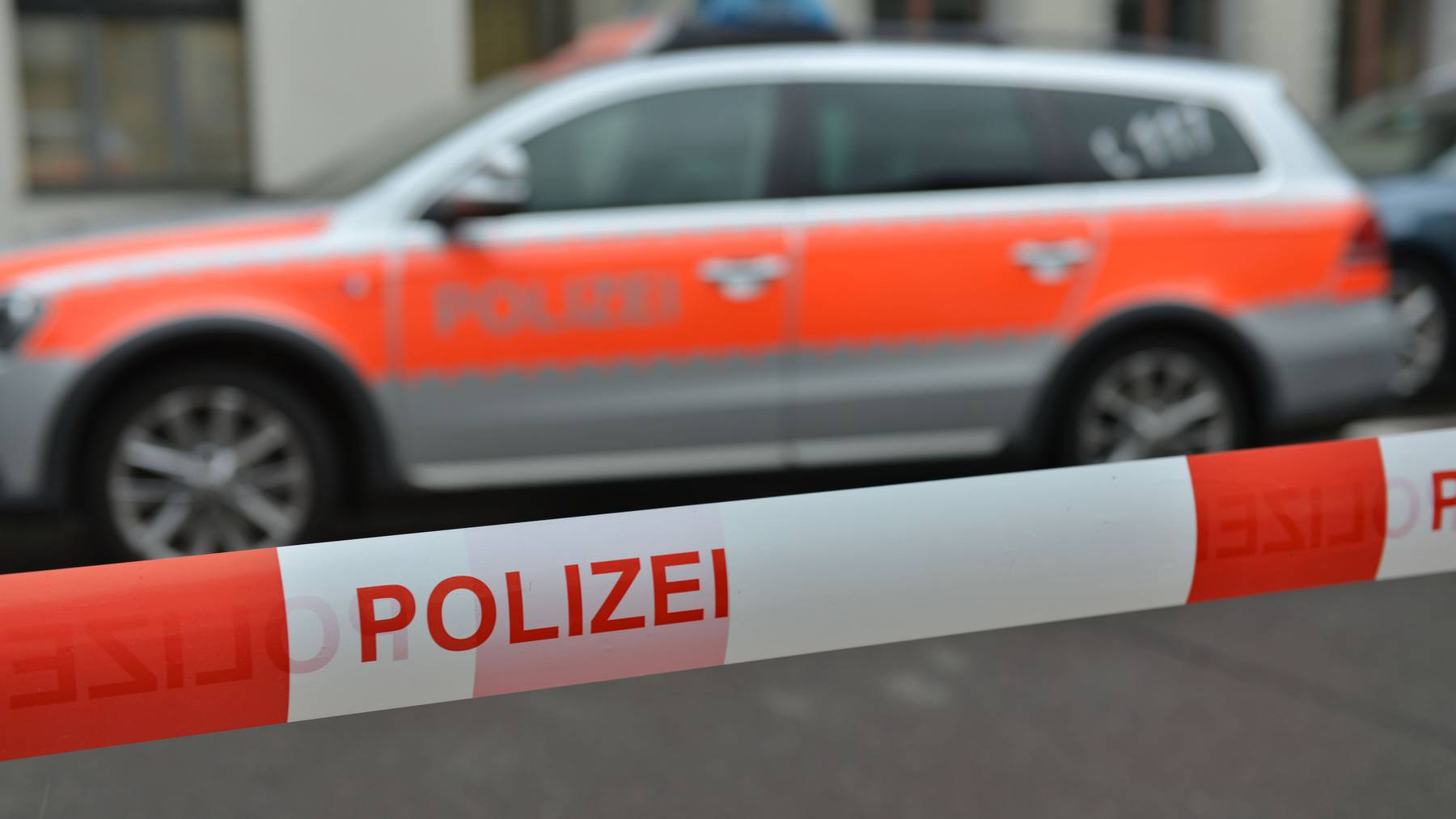 Polizeiauto der Luzerner Polizei