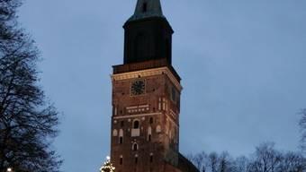 Die Kathedrale von Turku, der diesjährigen Kulturhauptstadt (Archiv)