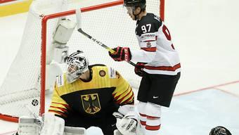 Die Kanadier, im Bild Connor McDavid, hatten Deutschland im Griff