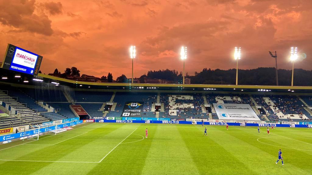 Der FC Luzern verliert gegen Sion mit 1:2