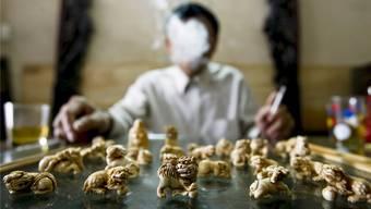 Unter dem Deckmantel des legalen Handels gelangte in China bisher auch illegales Elfenbein in Umlauf. Damit ist nun Schluss.