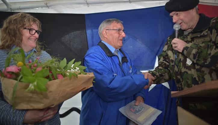 Feldchef Werner Stauffer ist in der Gemeinde über dem Seetal heimisch und präsidiert die örtliche Schützengesellschaft.