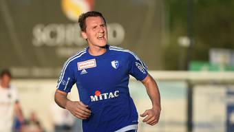 Igor Tadic konnte den einzigen Treffer für den FC Wohlen im Spiel gegen den FC Winterthur erzielen.