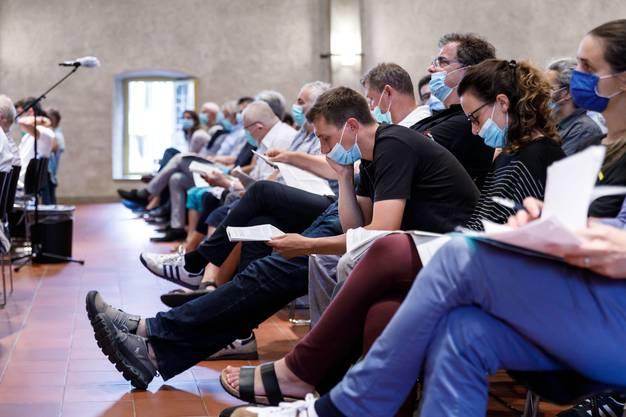 Für die Solothurner galt Maskenpflicht