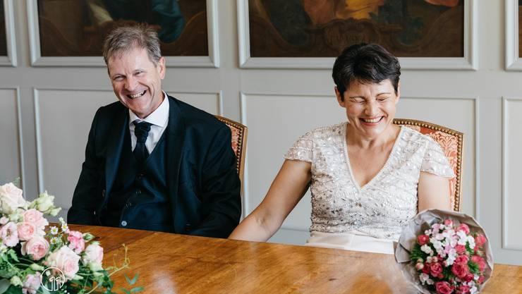 Emotionen einzufangen sind der Hochzeitsfotografin Fabienne Büttler wichtig.