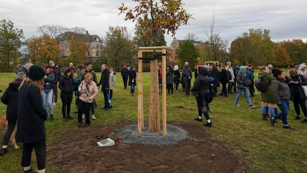 Zwickau erinnert an NSU-Opfer - zehn Bäume gepflanzt