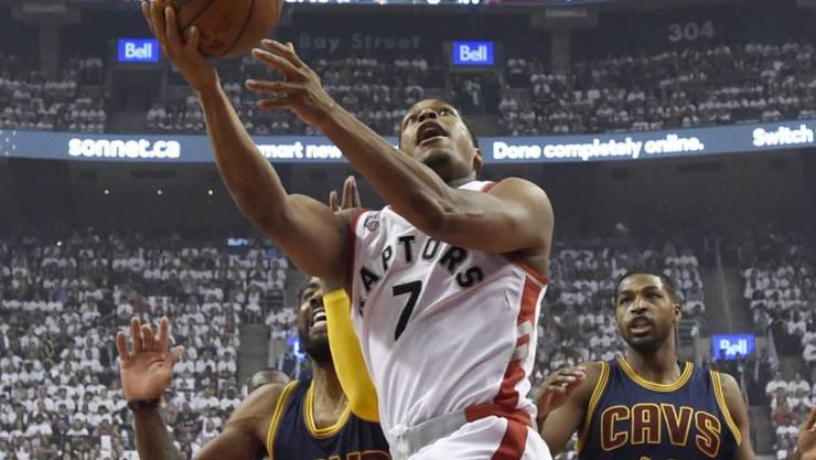 Bester Werfer beim zweiten Heimsieg der Toronto Raptors gegen Cleveland: Guard Kyle Lowry