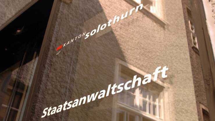 Staatsanwaltschaft Solothurn.