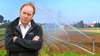 Bauernpräsident Alois Huber sieht die heutige Bewässerungspraxis kritisch.