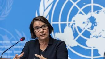 Catherine Marchi-Uhel steht einem internationalen und unabhängigen Ermittlungsgremium vor, das die Uno Ende 2016 eingerichtet hatte. Es soll Belege für Kriegsverbrechen in Syrien sammeln.
