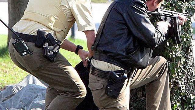 Bei einer Schiesserei in Landshut wurde mindestens eine Person getötet