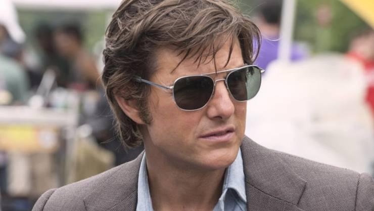 """Tom Cruise in """"American Made"""" als Barry Seal, der vom handelsüblichen Piloten zum CIA-Agenten und schliesslich zu einer wichtigen Instanz in der kolumbianischen Kokainbranche wird. Der Film war am Wochenende in der Schweiz der einträglichste. (Pressebild)"""