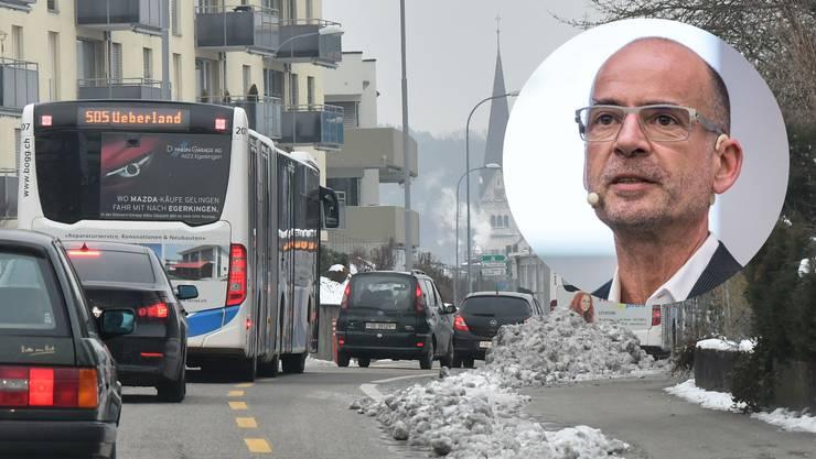«Das Strassennetz ist in den Kernbereichen zu den Hauptverkehrszeiten bereits heute ausgelastet.»