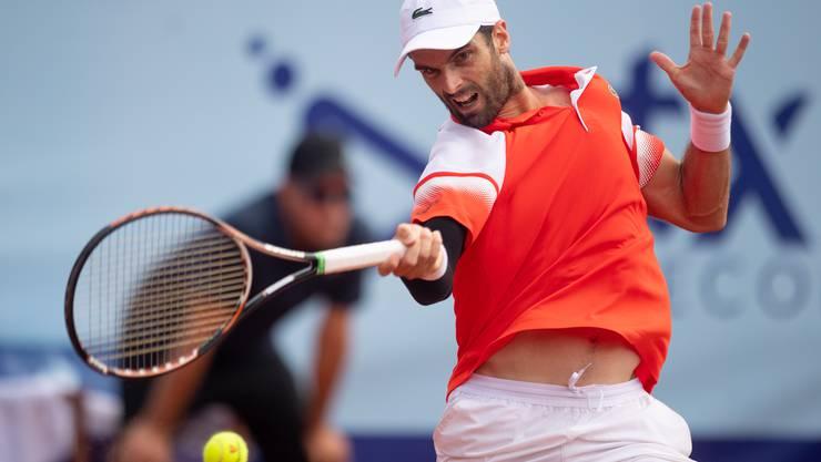 Die beiden Siege von Pablo Andujar (ATP 53) reichten für Froburg Trimbach nicht.