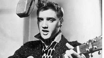 Elvis Presley in seinen Anfangstagen (Archiv)
