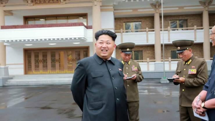 Bereit zum Gefecht: Nordkoreas Machthaber Kim Jong Un droht mit Überraschungseinsätzen der Armee (Archivbild).