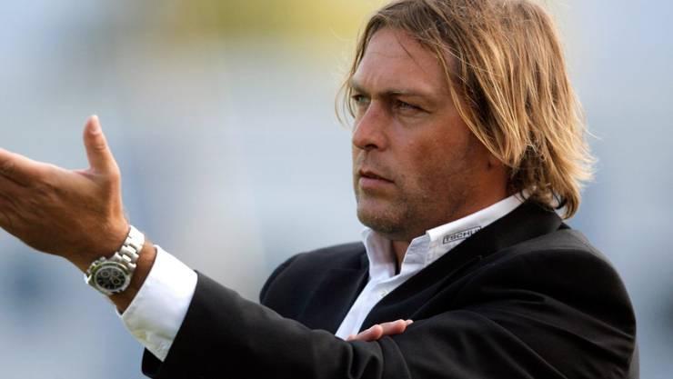 René van Eck stand einst beim FC Luzern und beim FC Thun als Chefcoach an der Seitenlinie