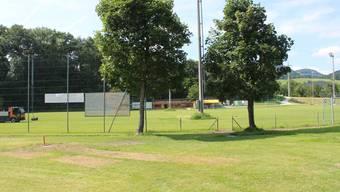 Der Fussballplatz Küttigen