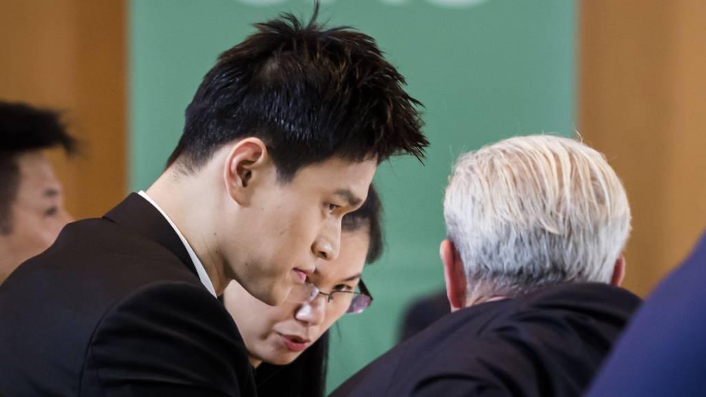 Olympiasieger Sun Yang acht Jahre gesperrt