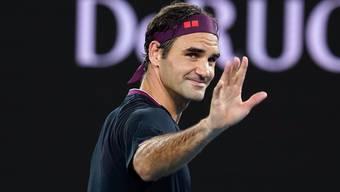 Roger Federer überzeugt zum Auftakt der Australian Open.
