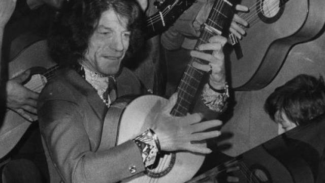 Manitas de Plata 1970 bei einem Auftritt in Frankreich