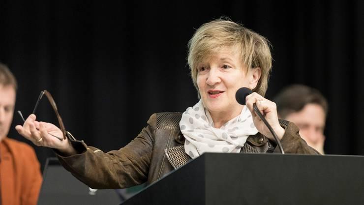 Manuela Stiefel unterzeichnete das 5-Punkte-Programm der Schlieremer Wirtschaftsvertreter nicht und konnte deshalb nicht auf deren Unterstützung zählen.