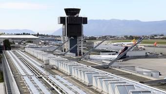 Der Flughafen Genf. (Archiv)