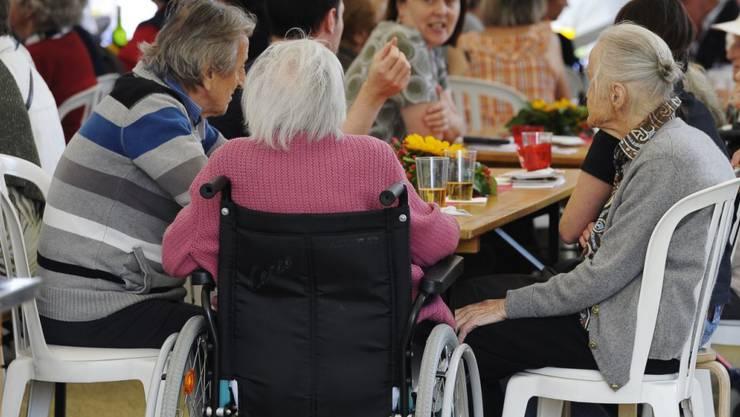Altersheimbewohner erhalten Ergänzungsleistungen von jenem Kanton, in dem sie ihren letzten Wohnsitz hatten. (Archiv)