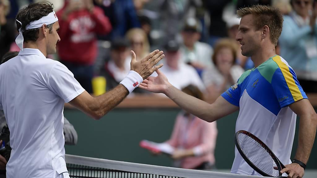 Federer trifft auf Gojowczyk