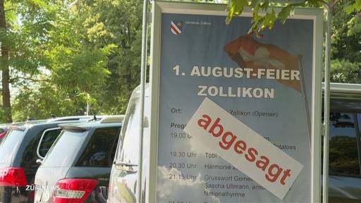1. August fällt ins Wasser: Zürich gibt aber nicht auf