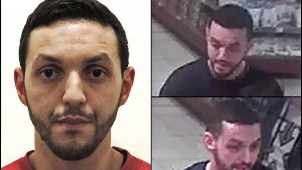 Polizeilich gesucht: Mohamed Abrini soll für die Tatzeit der Pariser Anschläge ein Alibi haben.