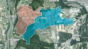 Nun ist es definitiv: Die beiden Gemeinden Lupfig und Scherz fusionieren am 1. Januar 2018.