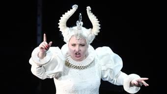 """Erhielt am meisten Applaus: die russische Koloratursopranistin Albina Shagimuratova in der Oper """"Die Zauberflöte"""" an den Salzburger Festspielen."""