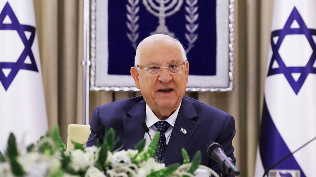 Rivlin besorgt über antisemitische Gewalt in anderen Ländern