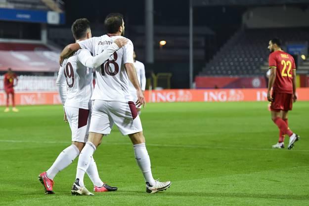 Erfreulich: Mehmedi zeigt sich nach einigen mittelmässigen Spielen verbessert.